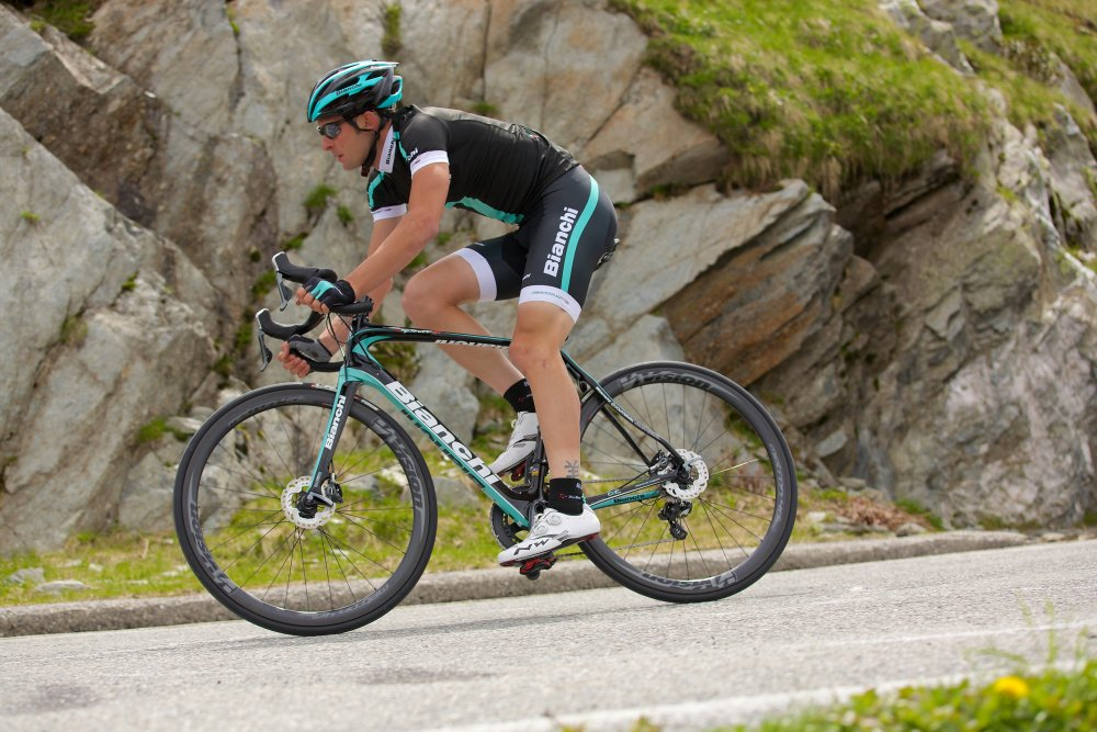 4aa0080e4 Bianchi Reparto Corse Black clothing is designed and made in Italy using the  most advanced materials for function and fit and made by Nalini.